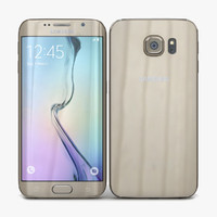 Samsung Galaxy S6 Edge Gold Platinum