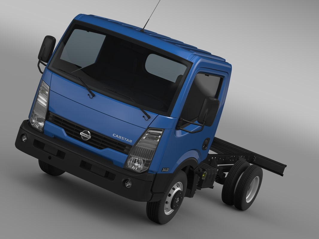 nissan chassi 2013 3d model