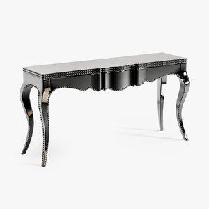 3dsmax eichholtz console table margaret
