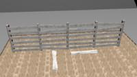 3d model kirik çit