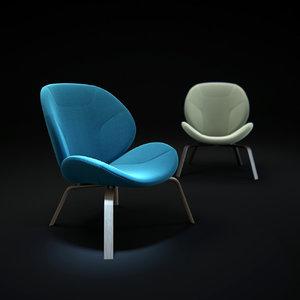 eden-chair 3d max