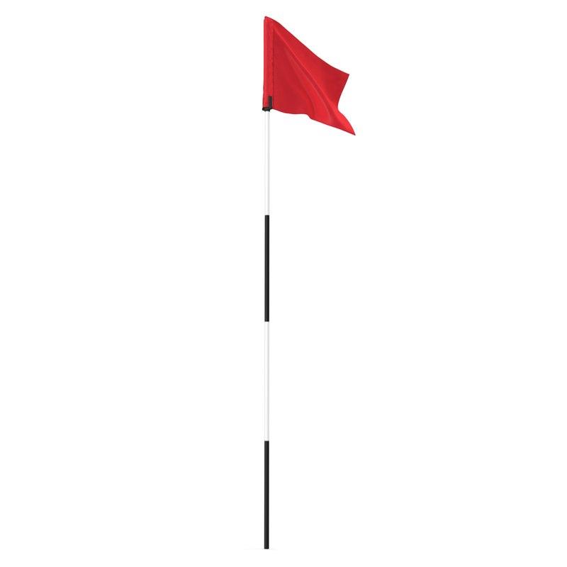 3dsmax golf flag 2