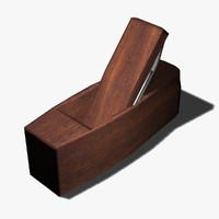 wood plane 3d model