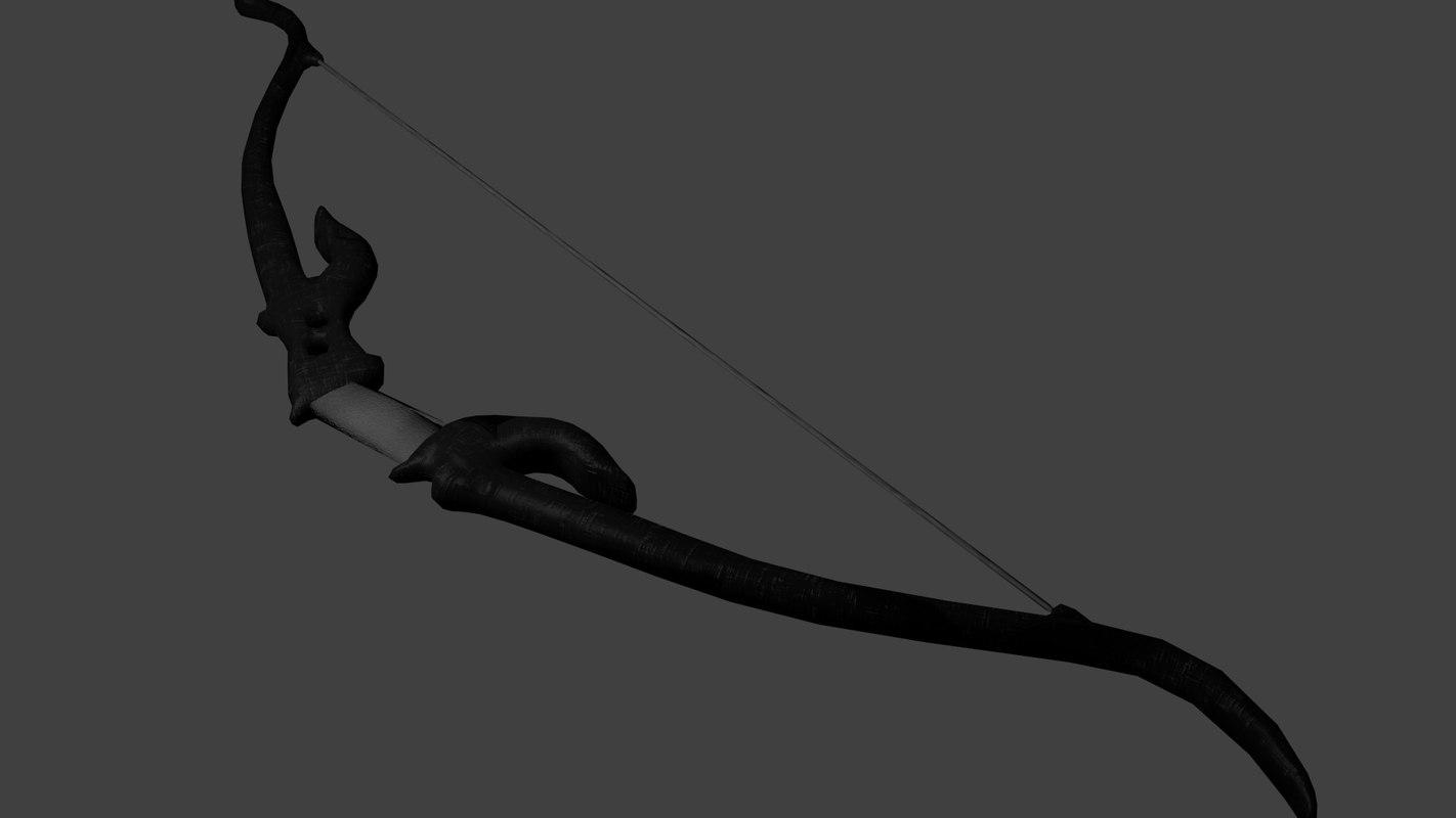 3dsmax hunting bow