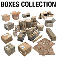 Cardboard Box Collection