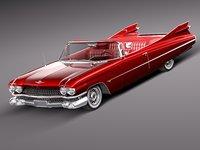 cadillac eldorado 1959 3d 3ds