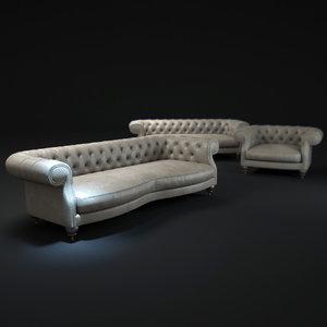 3d diana-chester-sofa