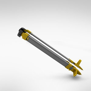 3ds max tripod stand industrial