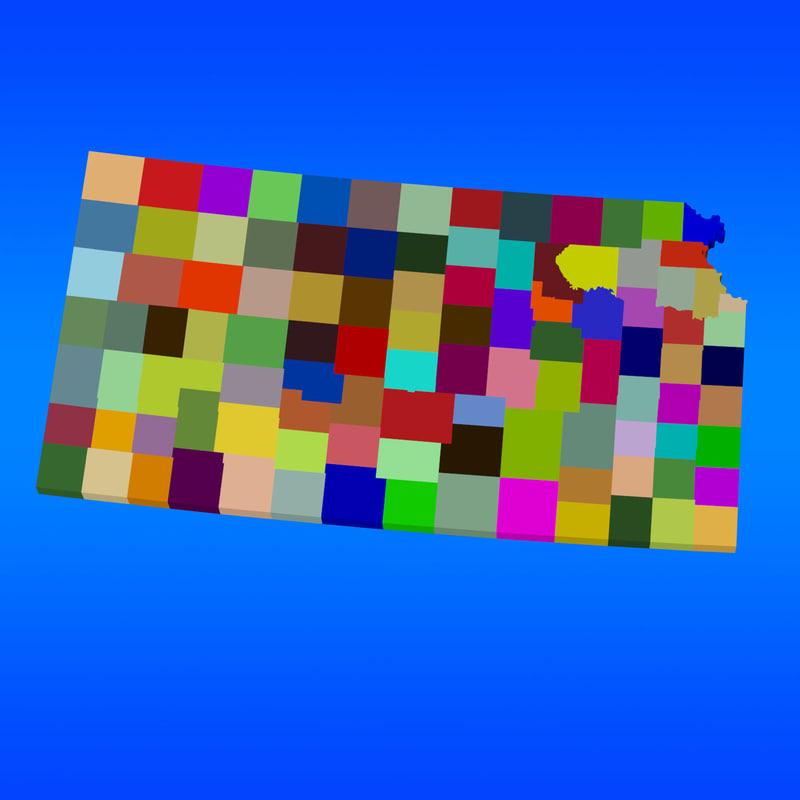 3d counties kansas