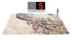 3d model rocky beach ultra hd