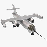 jet transport dornier 31 3d max