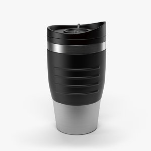 3d model thermal coffee mug