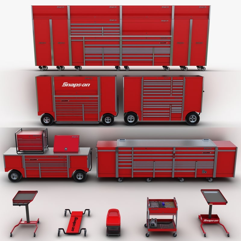 tool storage 3d model