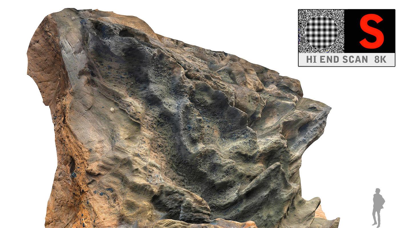 rocky hd volcanic 3d max