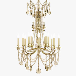 classic chandelier 3ds