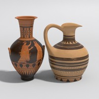 Antique Greek Vases