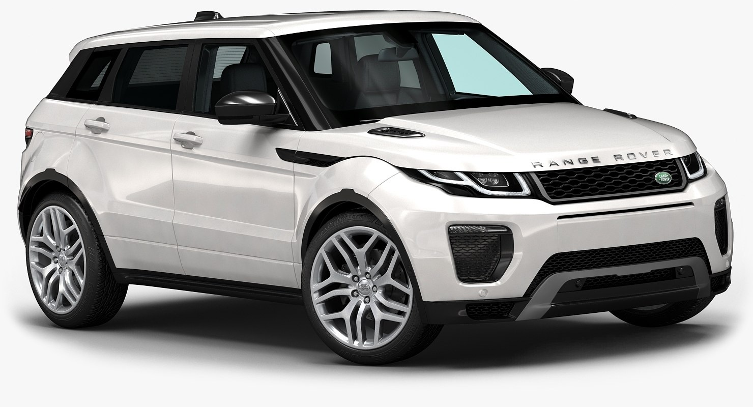 3d 2016 range rover evoque model. Black Bedroom Furniture Sets. Home Design Ideas