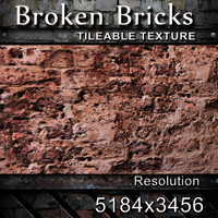 Broken Bricks Texture