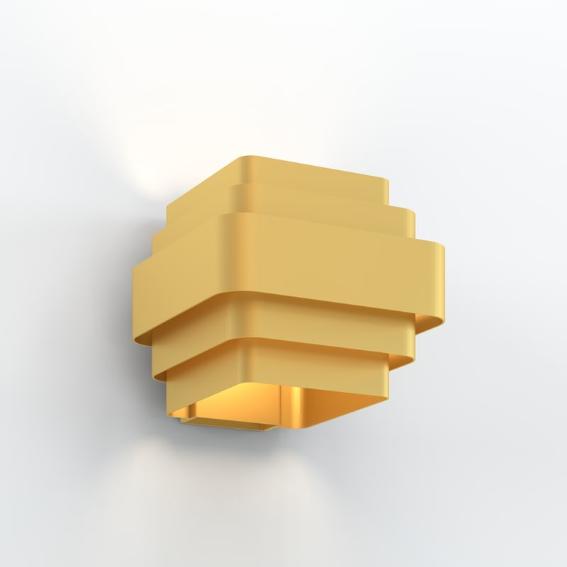 wall lamp wever ducre 3d model