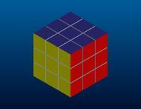 3d cube rubika