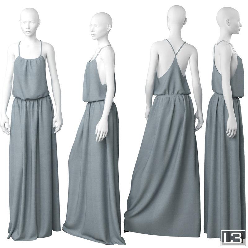 woman mannequin fbx