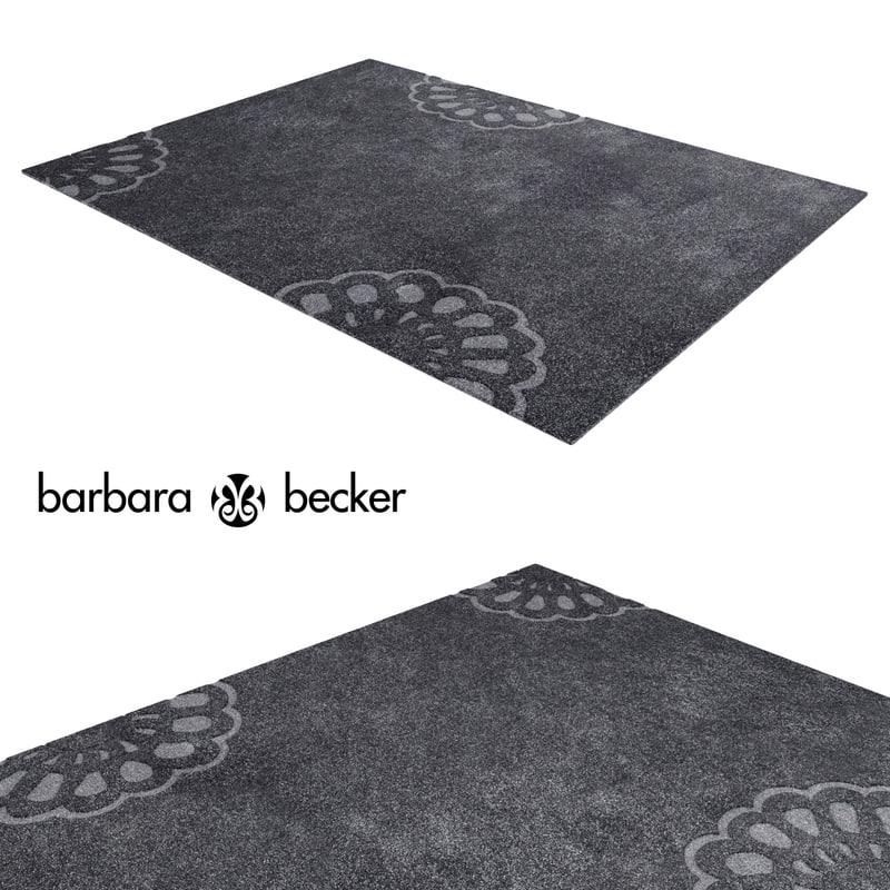 3d model carpet barbara becker