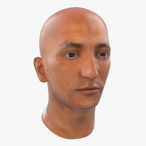 mediterranean male head max