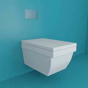 3d bathrooms wc model