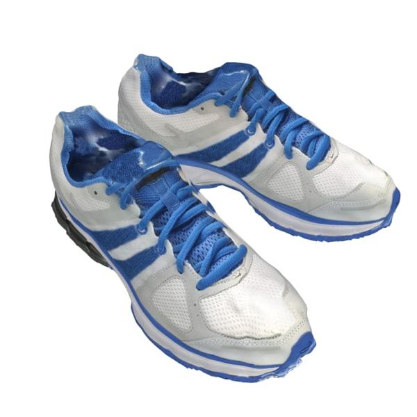 shoes 1 - sport 3d obj