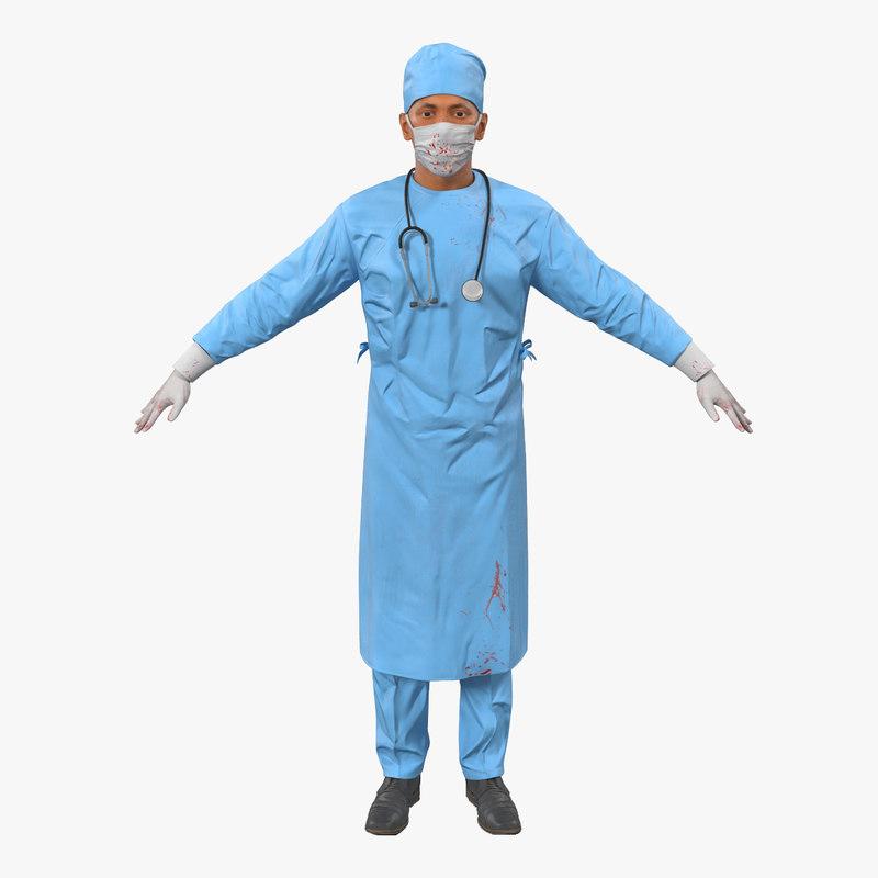 male surgeon mediterranean 3 max