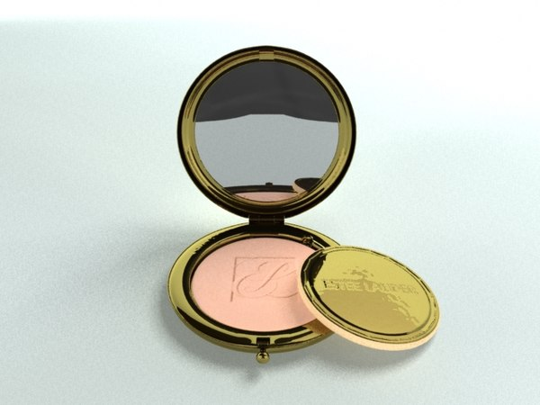 makeup accessories mirror 3d obj