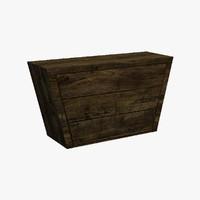 argi desk sideboard 3ds