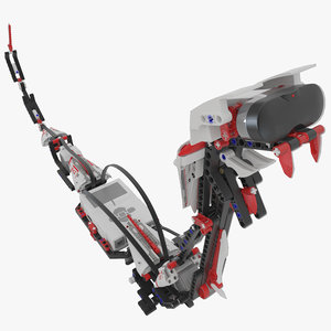 3d snake robotic model