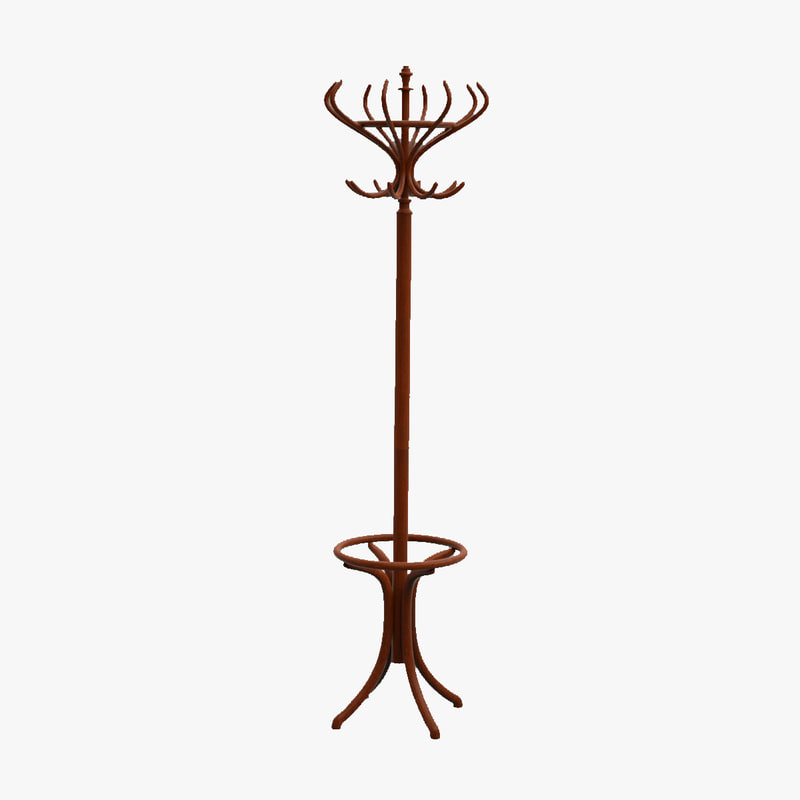 stand coat rack 1 3ds
