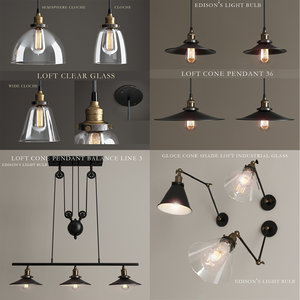 lights loft lamps 3d max