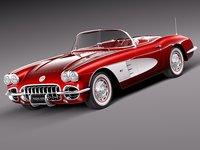 chevrolet corvette 1958 max