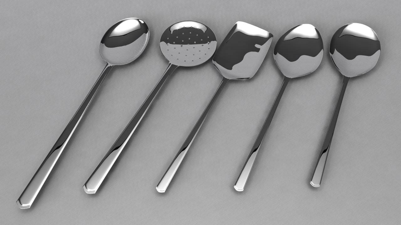 obj cooking spoon set