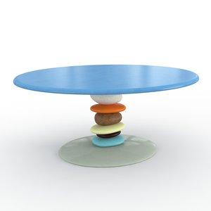 3d breakfast francesca amfitheatrof table