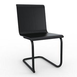 3d max chair 23 artek