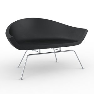 3d model dreyfuss chair david weeks