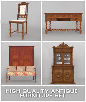 3d antique furniture model