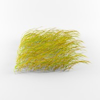 3d grass pack wind model