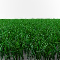 cut grass pack 3d model