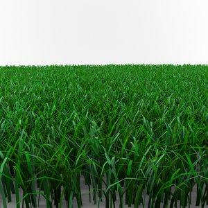 cut grass pack 3d model
