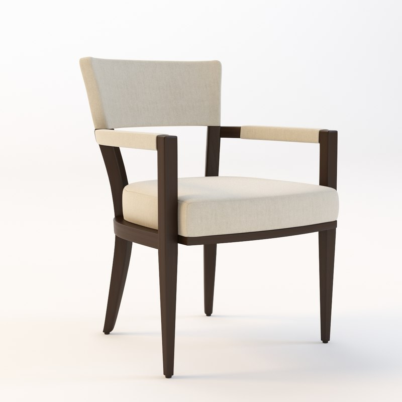 3ds max gotham pull chair