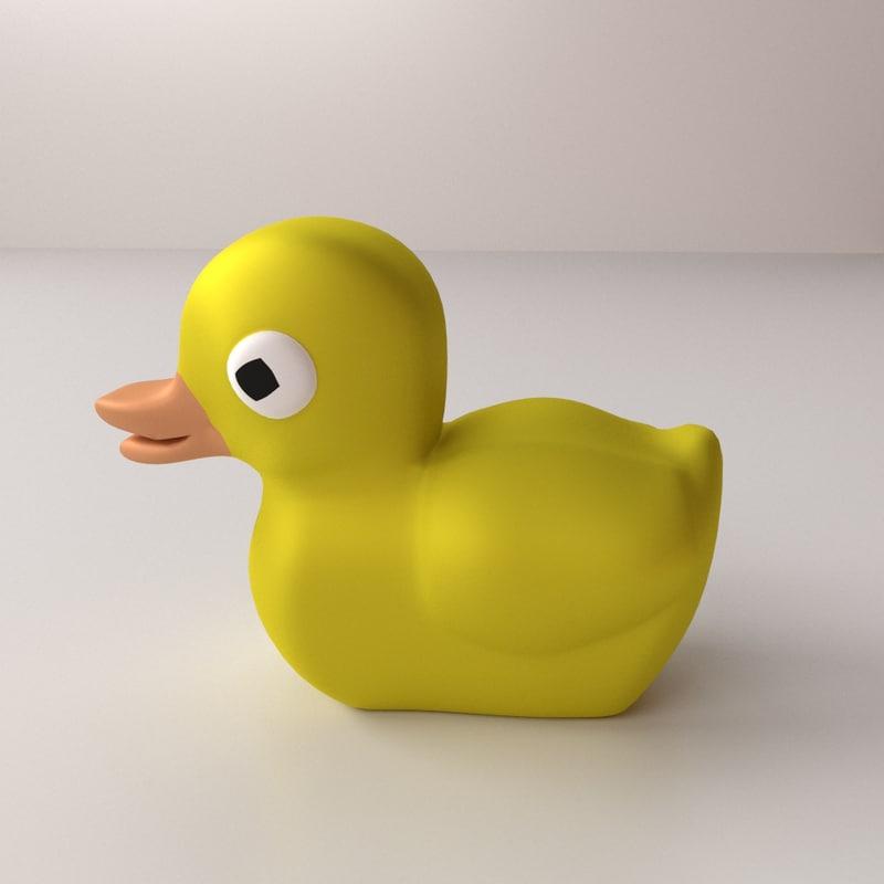 fbx rubber ducky
