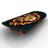 dxf skate board