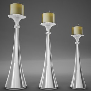 3dsmax candle