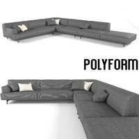 3d model sofa realistic super