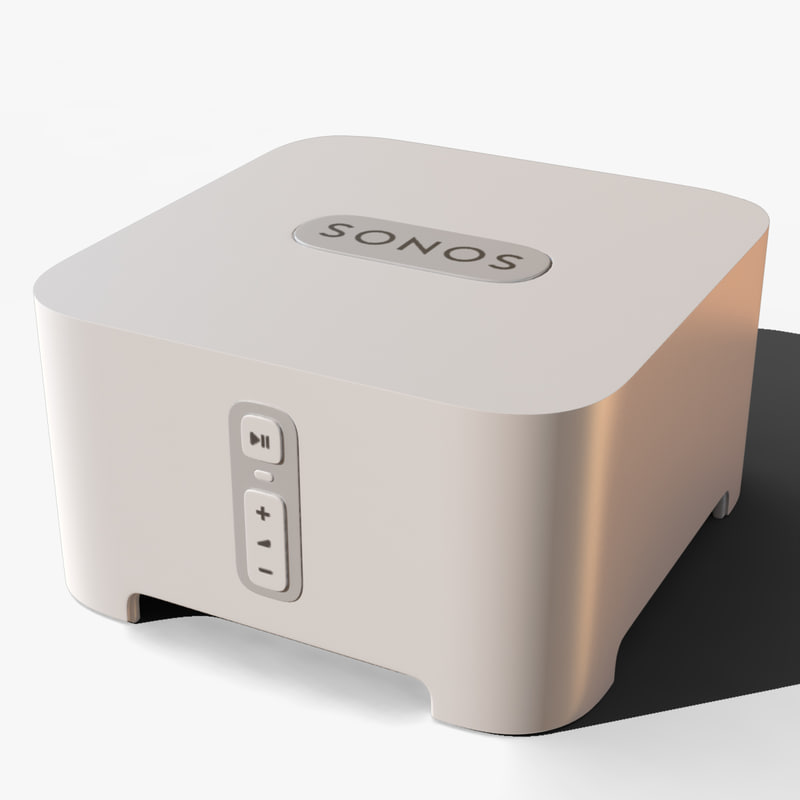 sonos connect 3d obj